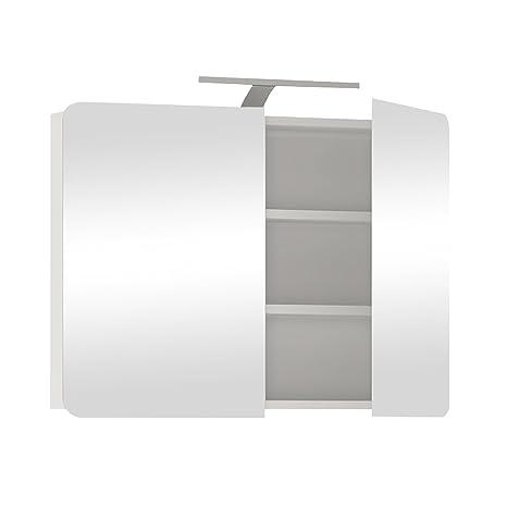 Furniture To Go Chelsea 2-Door-Door Wall Unit, 80 x 69 x 16 cm, White Gloss