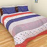 BRiDA Polycotton Double Bedsheet - 225 Cm X 225 Cm