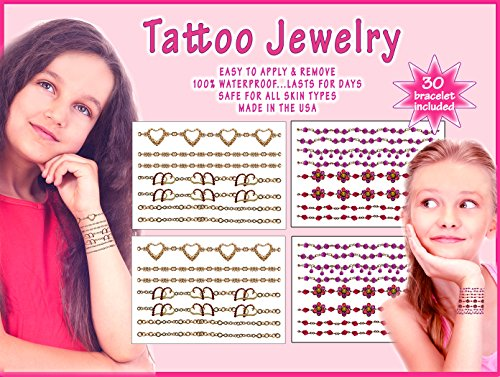 Girls Tattoo Jewelry