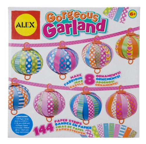 ALEX Toys Craft Gorgeous Garland - 1