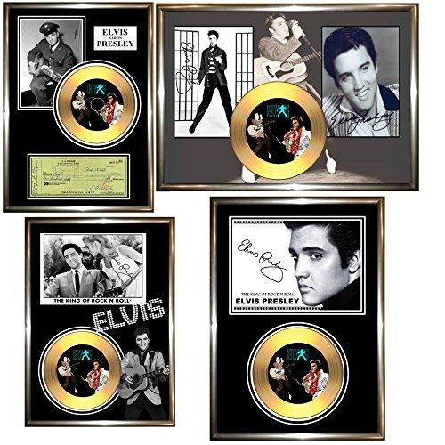 Disque dor sign/é Elvis Presley