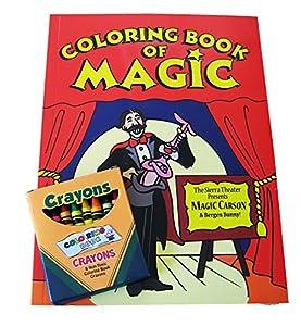 Coloring Book of Magic + Vanishing Crayons