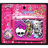 Monster High Cartera Reloj Juego Para niños Niñas Regalo Ideal Navidades Por Happy Bargains Ltd