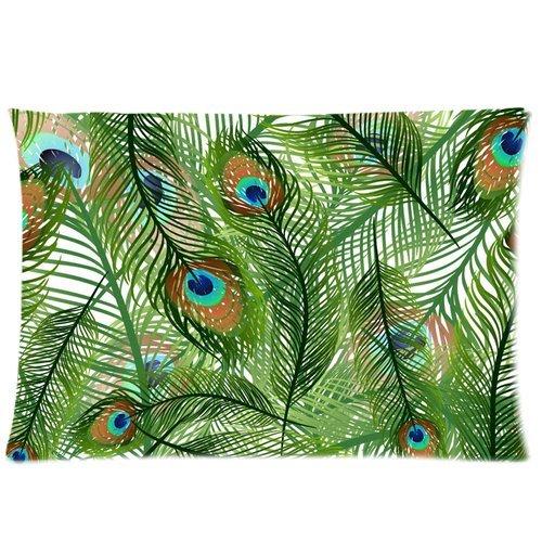 Peacock Print Bedding Set front-137043