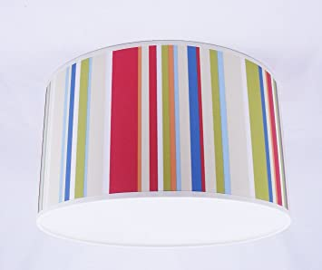 0 0abat jour fait main 28cm harlequin rush 70532 rouge rouge bleu vert cuisine. Black Bedroom Furniture Sets. Home Design Ideas