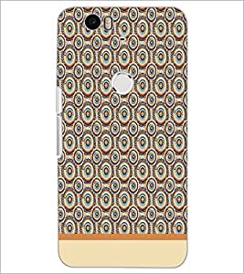 PrintDhaba Pattern D-1914 Back Case Cover for HUAWEI NEXUS 6P (Multi-Coloured)