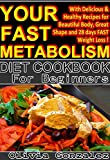 Your Fast Metabolism Diet Cookbook: (With Delicious & Healthy Recipes for Beautiful Body, Great Shape and 28 days FAST Weight Loss!)