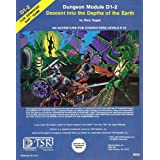 Descent into the Depths of the Earth (Advanced Dungeons & Dragons Module D1-2) ~ Gary Gygax