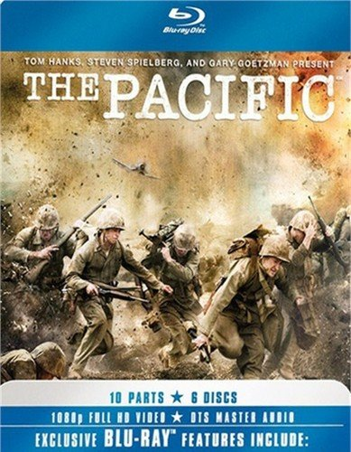 Blu-ray : The Pacific (Full Frame, Gift Set, 6 Disc)