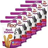 Fido Flexi Delicious Snacks à mâcher au poulet pour chien de taille moyenne (10-25kg) 180 g - Lot de 6