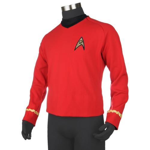 Anovos Star Trek Original Series Red Shirt Tunic Large