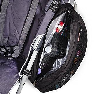 Skip Hop Grab and Go Stroller Saddlebag, Black