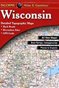 Amazon.com: Wisconsin Atlas and Gazetteer (9780899333311): Delorme: Books