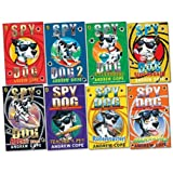 Spy Dog Pack, 8 books, RRP £47.92 (Spy Dog; Spy Dog 2; Super Brain; Unleashed; Brainwashed; Rocket Rider; Rollercoaster; Teacher's Pet).