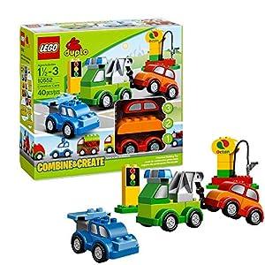 Lego Duplo Briques - 10552 - Jeu de Construction - Set de Voiture à Construire