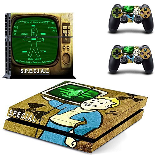 A Look At Several Fallout 4 Skin Decals For Ps4 And Xbox