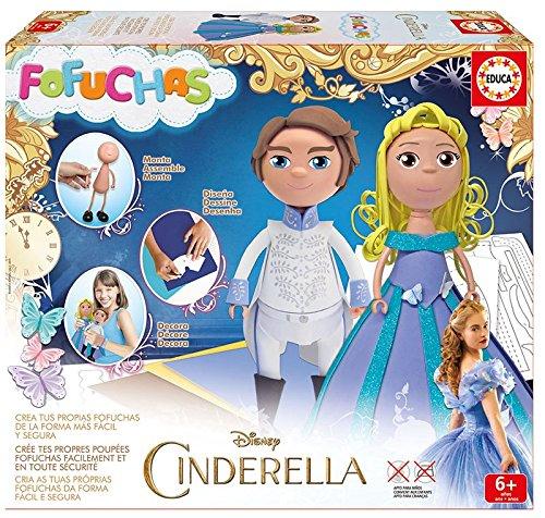 Educa - Cenicienta Fofucha, princesa y príncipe (644249 )