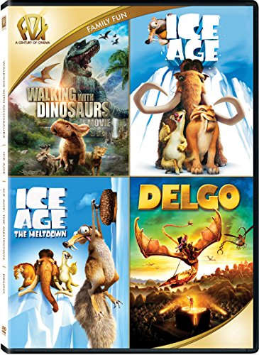 Walking with Dinosaurs / Ice Age / Ice Age: The Meltdown / Delgo Quad (Widescreen)