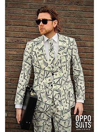 OppoSuits Men's Cashanova Party Costume Suit
