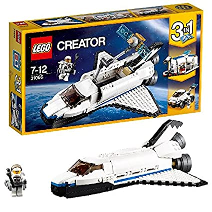 LEGO - 31066 - Creator - Jeu de Construction - La navette spatiale