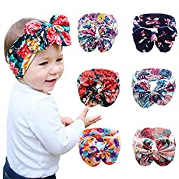 Hip Mall® Cute Baby Headband Hair Bands Newborn Headbands Bowknot