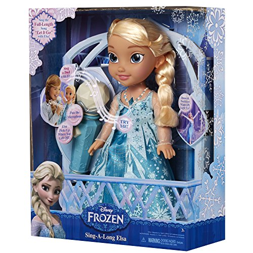New Frozen 31078 Sing A Long Elsa Doll