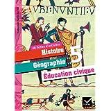 Histoire-Géographie et Education Civique 5ème éd. 2010 - Fiches d'activités
