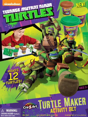 Cra-Z-Art Teenage Mutant Ninja Turtles Mold n' Play Activity Set (Teenage Mutant Ninja Turtles Art compare prices)