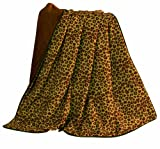 HiEnd Accents Austin Leopard Throw