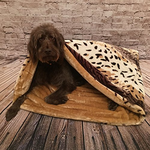 snuggle-sack-sleeping-bag-pet-bed-for-cats-or-dogs-by-lolas-pet-mink-caramel-medium-70cm-high-x-75cm