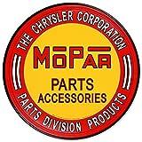 Automotive Parts Accessories Best Deals - Nostalgic Automotive Tin Metal Sign : Mopar Parts Accessories , 12x12 by Poster Discount