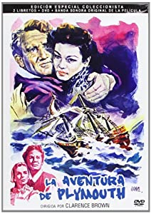 Plymouth Adventure (1952) - Region Free PAL Special Edition DVD with Collector's Booklets