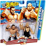 WWE Rumblers Mason Ryan and Big Show Figure 2-Pack