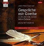 Gespr�che mit Goethe in den letzten J...