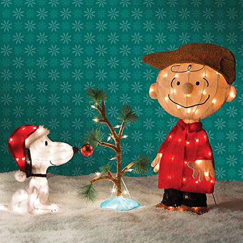 Peanuts Christmas Lawn Decorations