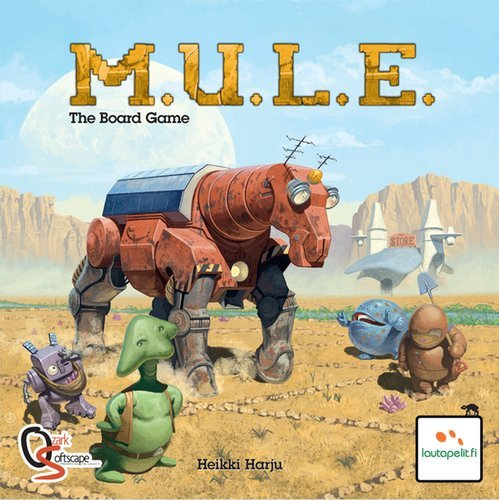 ホビージャパン特選ボードゲーム M.U.L.E./ミュール 日本語訳ルール付属