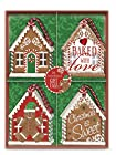 Lily McGee Gingerbread House Die Cut Gift Tag