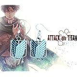 Superheroes Anime Attack on Titan Dangle Charm Earrings