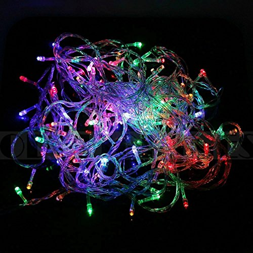 Willlight 10M 100 Led String Fairy Light For Wedding Christmas And Party With Tail Plug (Rgb)
