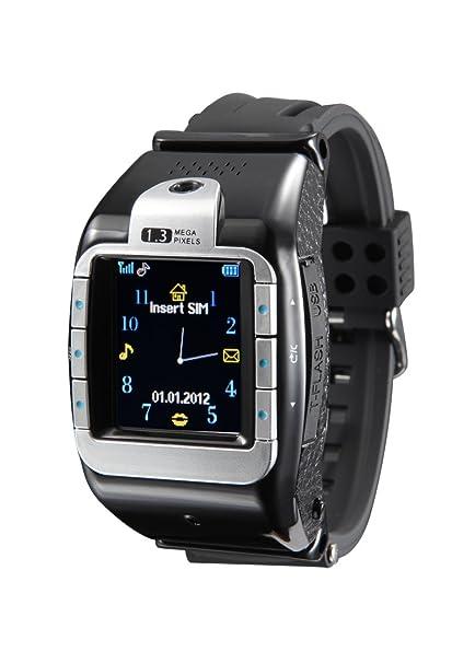 Amazon.com: Big Dragonfly Quad Band Fahion Sport Wrist Smart Watch ...