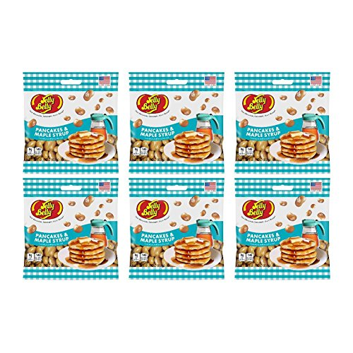 Jelly Belly Pancakes & Maple Syrup Grab & Go Bag (Pack of 6) (Pancake Jelly compare prices)