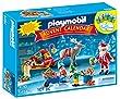 Playmobil - 5494 - Calendrier De L'Avent - Atelier De Jouets Avec P�re No�l Et Lutins