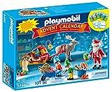 Playmobil - 5494 - Calendrier De L'Avent - Atelier De Jouets Avec Père Noël Et Lutins