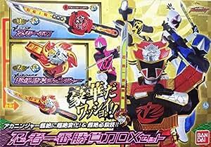 バンダイ 手裏剣戦隊ニンニンジャー 忍者一番勝負刀DXセット