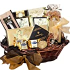 Classic Gourmet Food and Snack Gift Basket, MEDIUM (Candy Option)