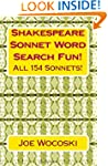 Shakespeare Sonnet Word Search Fun!:...
