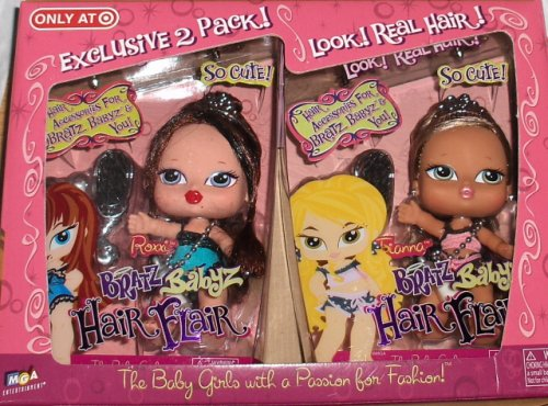 Buy Bratz Babyz Hair Flair Exclusive 2 Pack Roxie & Fianna