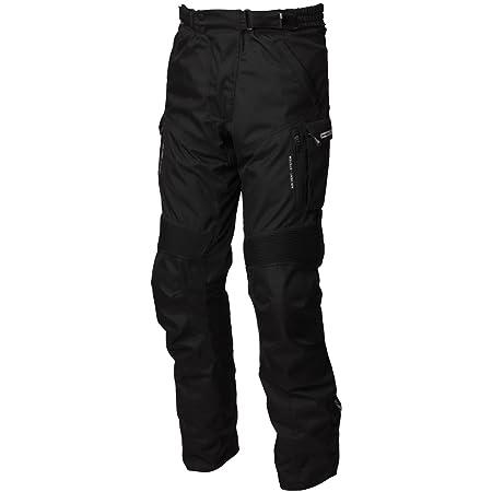 Modeka wESTPORT pantalon en tissu noir