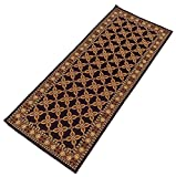 Yellow Weaves Bedside Floor Runner - Brown