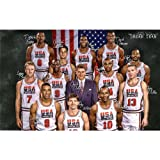 22x14 USA Dream Team Sport Art Print Poster 002